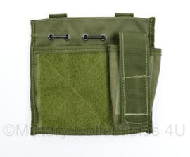 Defensie of US Army groene MOLLE Office pouch - 16,5 x 17,5 x 3 cm - NIEUW - origineel