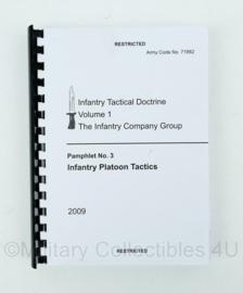 Korps Mariniers en US Army naslagwerk Infantry Tactical Doctrine volume 1 2009 - origineel
