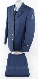 KLU luchtmacht dames DT jas en broek set - maat 42 - origineel
