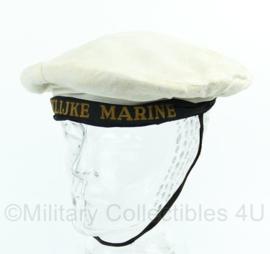 Nederlandse Koninklijke Marine matrozen muts met lint - model 1941-1955 - maat 56 - origineel