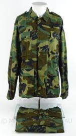 US Army Korps Mariniers BDU woodland jungle jas en broek - Eritrea missie - licht gebruikt - maat jas en broek Medium Regular  - origineel