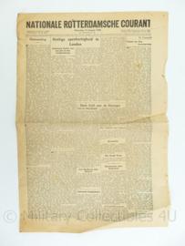krant Rotterdamsche Courant - 14 januari 1946 - origineel