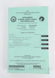 US Air Force handboek Chart Supplement DOD Flight Information Publication co-piloot vliegveld gegevens sept 2017 - origineel