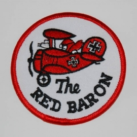 "Embleem stof ""Red Baron"""