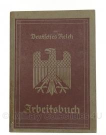 Arbeitsbuch 14 oktober 1936 - origineel Wo2 Duits