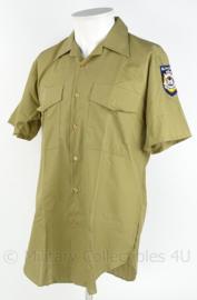 Australische politie, WA Western Australia Police - korte mouwen - met 2 emblemen - maat M - origineel