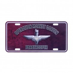 Nummerplaat Operation Market Garden Paratrooper