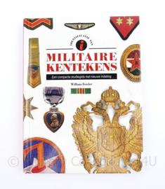 Naslagwerk Militaire kentekens William Fowler - 20 x 15 x 1 cm - origineel