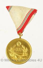Hongaarse luchtmacht medaille voor 800 vlieguren - origineel