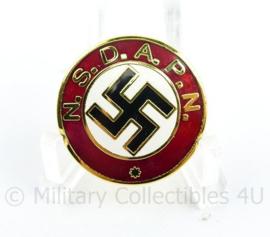 NSDAP N partijspeld - met RZM stempel