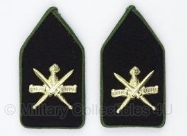 KCT Korps Commando troepen DT kraag set - origineel