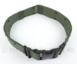 US Army en Korps Mariniers belt - Individual equipment nylon - huidig model - maat Large/afmeting 92,5 x 6,5 cm - origineel