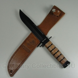 USMC knife - leren grip en schede (ka-bar) model!