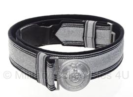 SS parade koppel - zwart met zilver