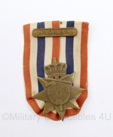 Ereteken voor Orde en Vrede medaille met balk 1948 - 8 x 5 cm -  origineel