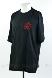 Defensie T-shirt 14e afdeling veldartillerie - maat XXL - origineel