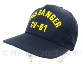 USN US Navy baseball cap bemanning USS Ranger CV-61 - maat L - origineel