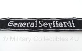SS officiers cufftitle General Seyffardt