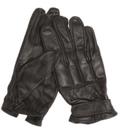 Tactical Glove Handschoen - met extra beschermende knokkels bovenkant met kwartszand - Zwart