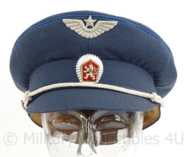 Tsjechische (czech) luchtmacht pet - blauw - maat 56 - maker: Kras - origineel