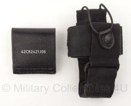 Politie portofoon koppeltas - zwart - origineel