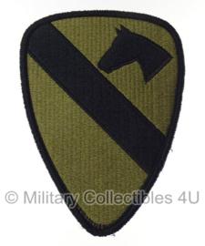 US Army OCP SSI patch - 1st Cavalry Division - met klittenband - 14 x 9,5 cm - voor multicamo uniform - origineel