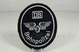 Duitse Spoorweg Politie mouwembleem DB Bahnpolizei - origineel