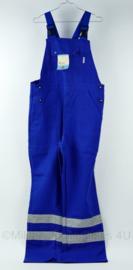 Havep werkbroek bretelbroek blauw reflecterend - maat 52 - NIEUW - origineel