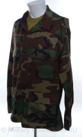 US Army uniform jasje woodland camo ONGEDRAGEN en zonder emblemen - maat Medium/Long - origineel