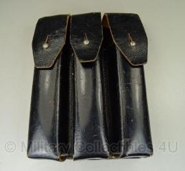 MP5 Heckler & Koch Magazijntas zwart leer - origineel
