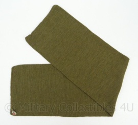 Nederlandse leger wollen das/sjaal groen - oud model - origineel