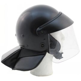 Italiaanse ME en DSI helm zwart Tempestini AP23 Zeldzaam! - maat 57 tm. 62 - origineel