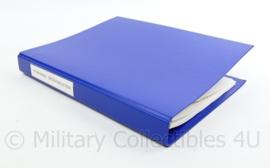Kmar Koninklijke Marechaussee werkboek milieudelicten t.b.v. Officier van Justitie -  32 x 25,5 x 3,5 cm - origineel