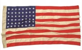 US vlag 48 sterren van katoen - verouderd