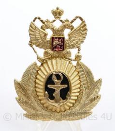 USSR Russische leger Marine pet insigne officier  - 8 x 6 cm - origineel