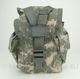 US Army ACU camo veldfles hoes  - origineel