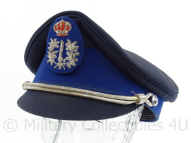 Belgische Gemeentepolitie platte pet - maat 59 - origineel