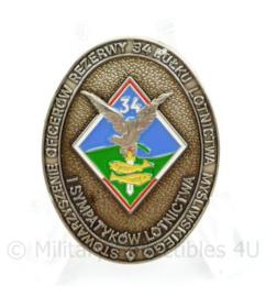 Speld Poolse leger reserve Officieren - 3,5 x 2,5 cm - origineel
