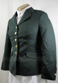 Dames leger uniform jas donkergroen - maat 36 / 38 origineel