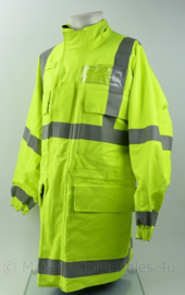 Britse Jacket reversible high visability MVP Blue Yellow RAF Police Royal Airforce Police  - small - origineel