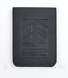 Defensie Notitieblok met houder Afghanistan - 15,5 x 11,5 x 0,5 cm - ongebruikt - origineel