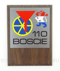 KL Landmacht wandbord - 110 Boscie - afmeting 15 x 20 cm - origineel