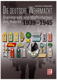 Dienstgrade und Waffenfarben des Heeres 1939-1945