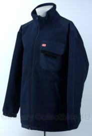 DB fleece jack - maat 52 - donkerblauw - Nieuw