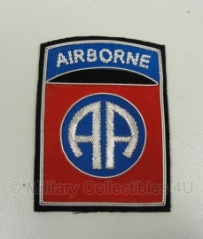 82nd Airborne patch - officer type