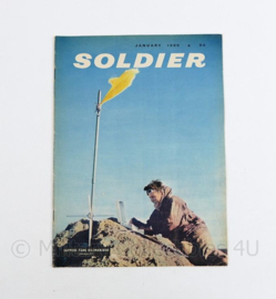 The British Army Magazine Soldier January 1960 - 30 x 22 cm - origineel