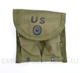 US Army OD Green Canvas M1 Carbine magazijntas net naoorlogs maar in nieuwstaat en origineel