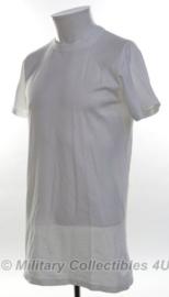 KL Koninklijke Landmacht Onderhemd/ shirt Wit unisex korte mouw - maat Medium - nieuw in verpakking - origineel