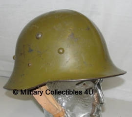 M1936 bulgaarse helm 1e model = type A - origineel WO2