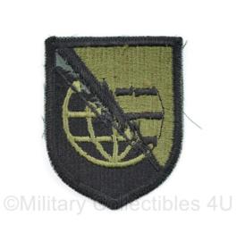 US Army Naoorlogs subdued embleem Strategic Command - 6,5 x 5 cm - origineel